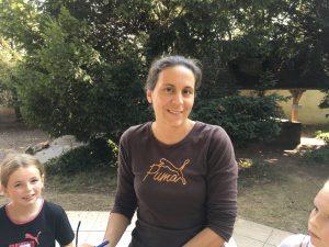 celine fronteau professeur d'eps à l'école bilingue français-anglais Greenfield