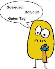 Illustration Bonjour en plusieurs langues
