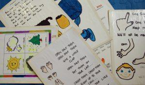 Livre et cahier de Maternelle anglais