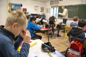 école élémentaire Greenfield à Lyon - Classe de CM2 en anglais