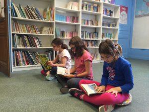 La bibliothèque de l'école bilingue Greenfield primaire est ouverte !
