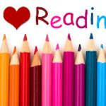 illustration I love reading books